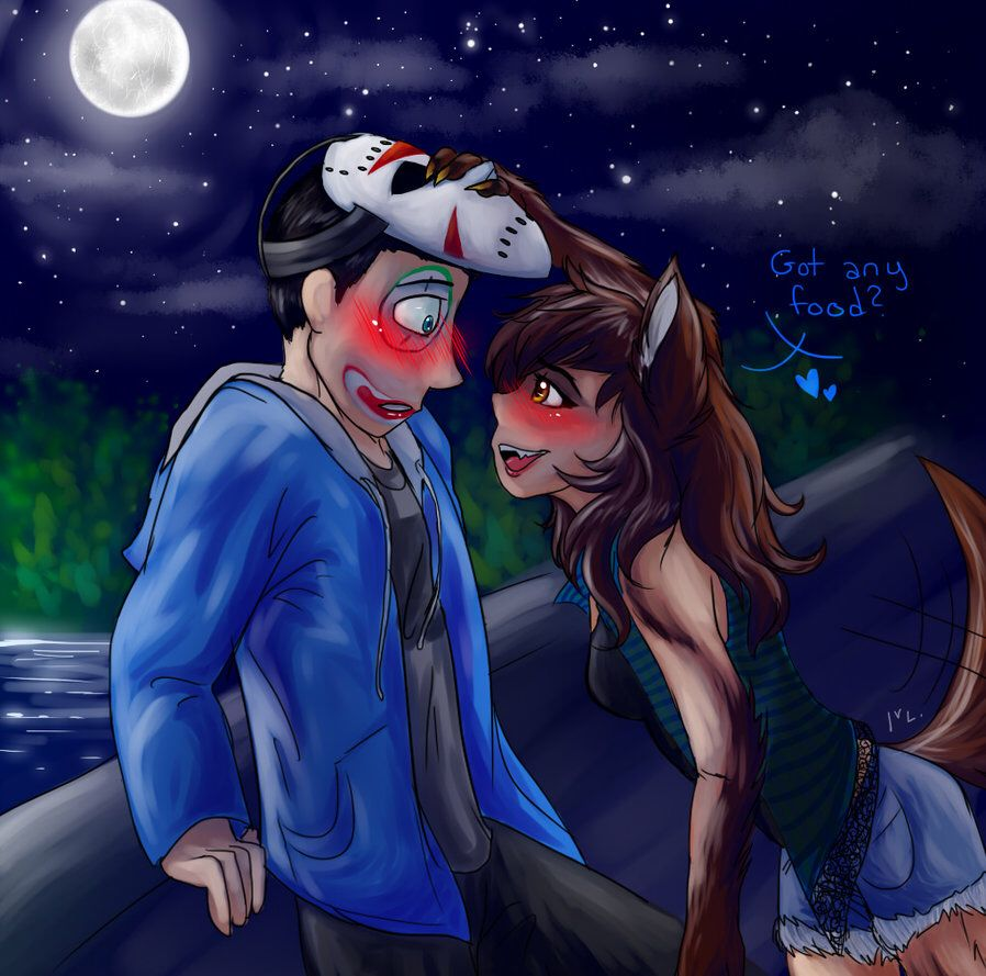 Hehehe looks like Delirious got him a new girlfriend ... H20 Delirious Fan Art