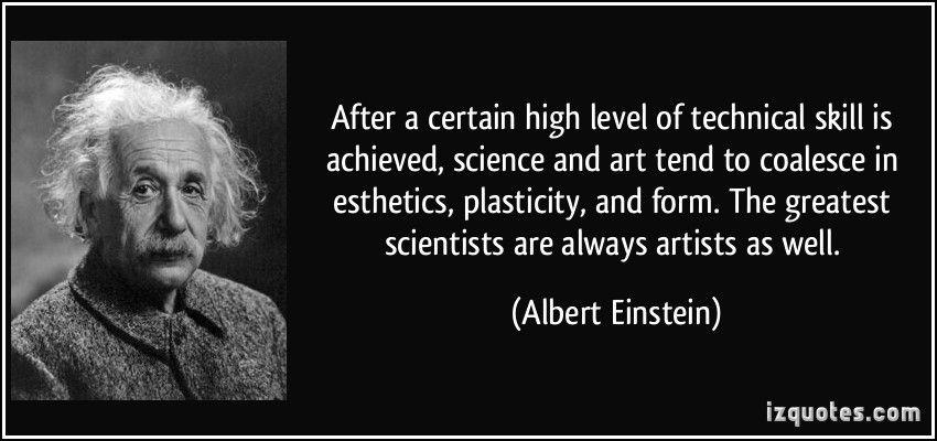 Image result for einstein scientists artists