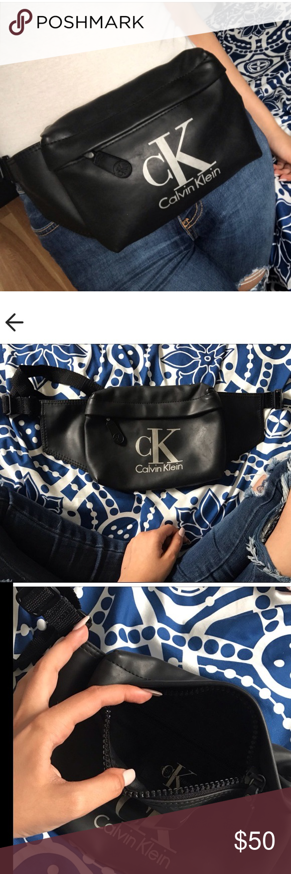 b53c600d8f95dc Vintage Calvin Klein fanny pack Super cute vtg Calvin Klein fanny pack  purchased on depop just