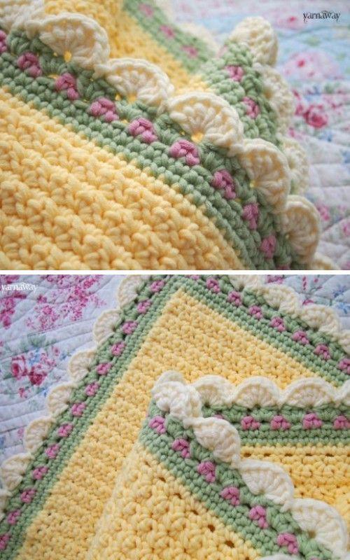 Photo of Tiramisu Baby Blanket – Free Pattern (Beautiful Skills – Crochet Knitting Quilting)