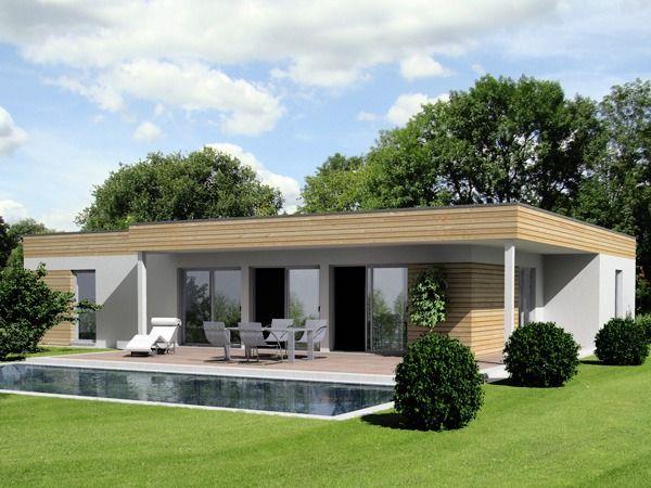 Traum bungalow haus design archaische formen stein for Haus formen