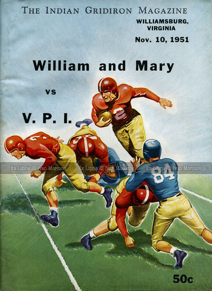 1951.11.10. College of William and Mary (Tribe) vs