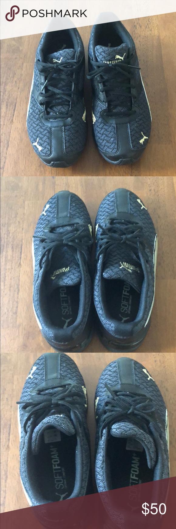 Ladies Puma Soft Foam Sneakers 8.5