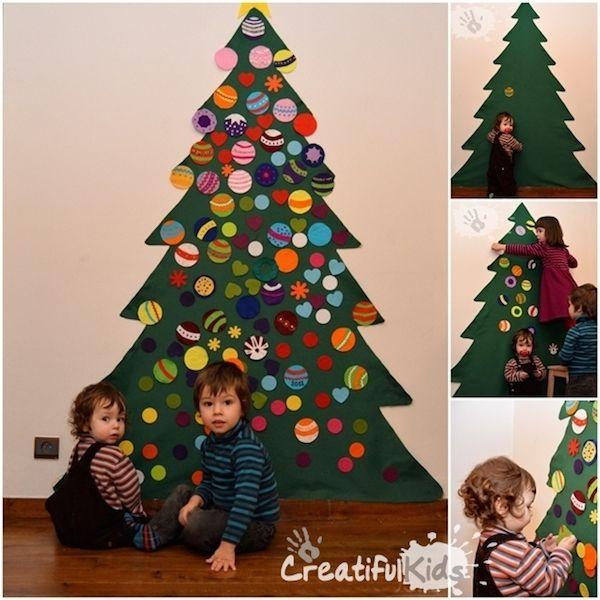 6 rboles de navidad para espacios peque os ideas de - Decoracion de arboles navidenos para ninos ...
