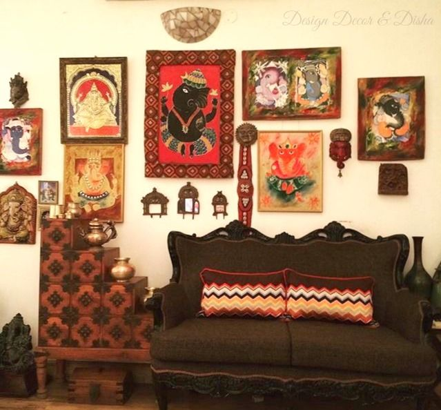Wall Stories Traditional Indian Wall Decor With Images Indian