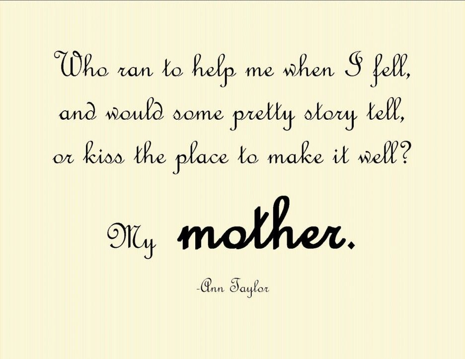 Quotes About Motheru0027s Love