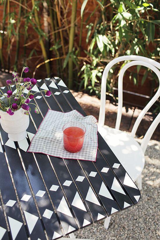 DIY bistro table | designlovefest | DIY | Pinterest ...
