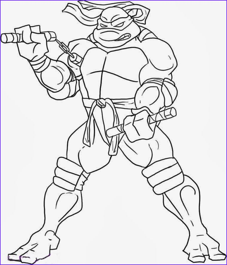 Ninja Turtle Coloring Pictures Awesome Photos Craftoholic ...