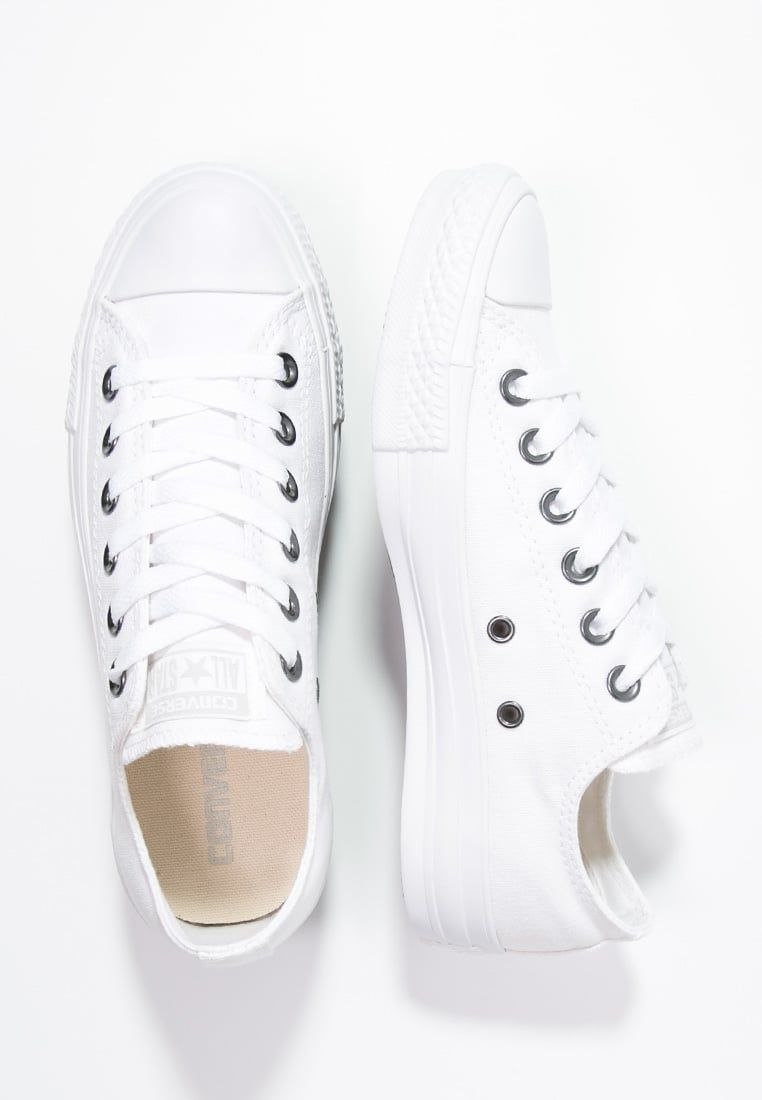 CHUCK TAYLOR ALL STAR OX - Matalavartiset tennarit - white ...