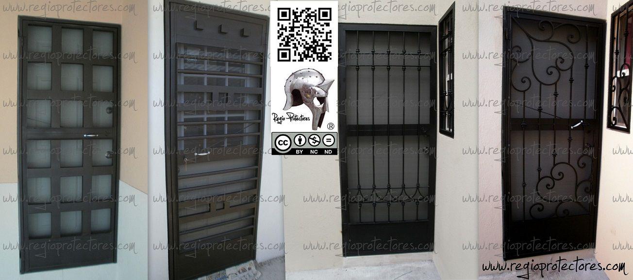 Regio protectores protectores para ventanas puertas for Puertas principales de hierro para casas