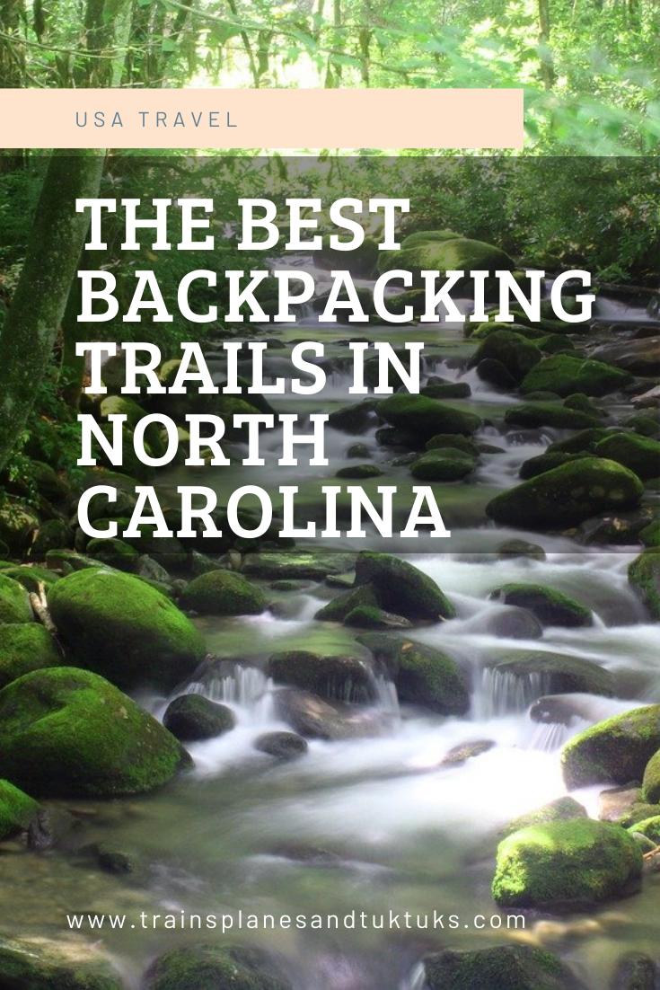 Backpacking in NC: 3 best North Carolina backpacki