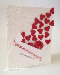50 Thoughtful Handmade Valentines Cards Easy Handmade Cards Diy