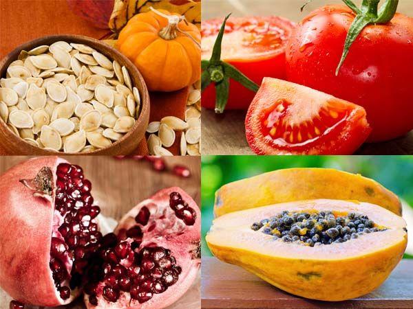 Semillas y frutas para adelgazar corriendo