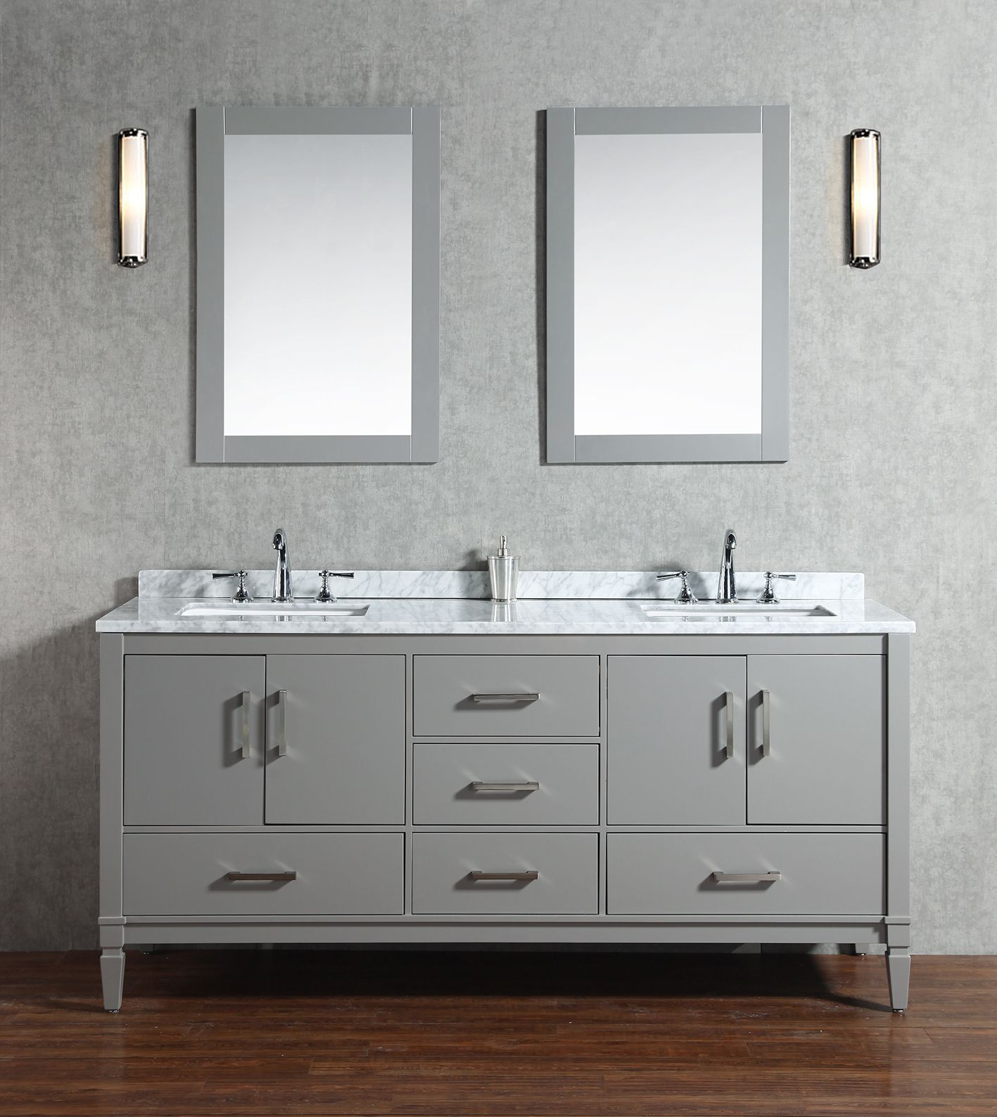 forged trails base cuzco with vanity carrara iron bathroom in marble native