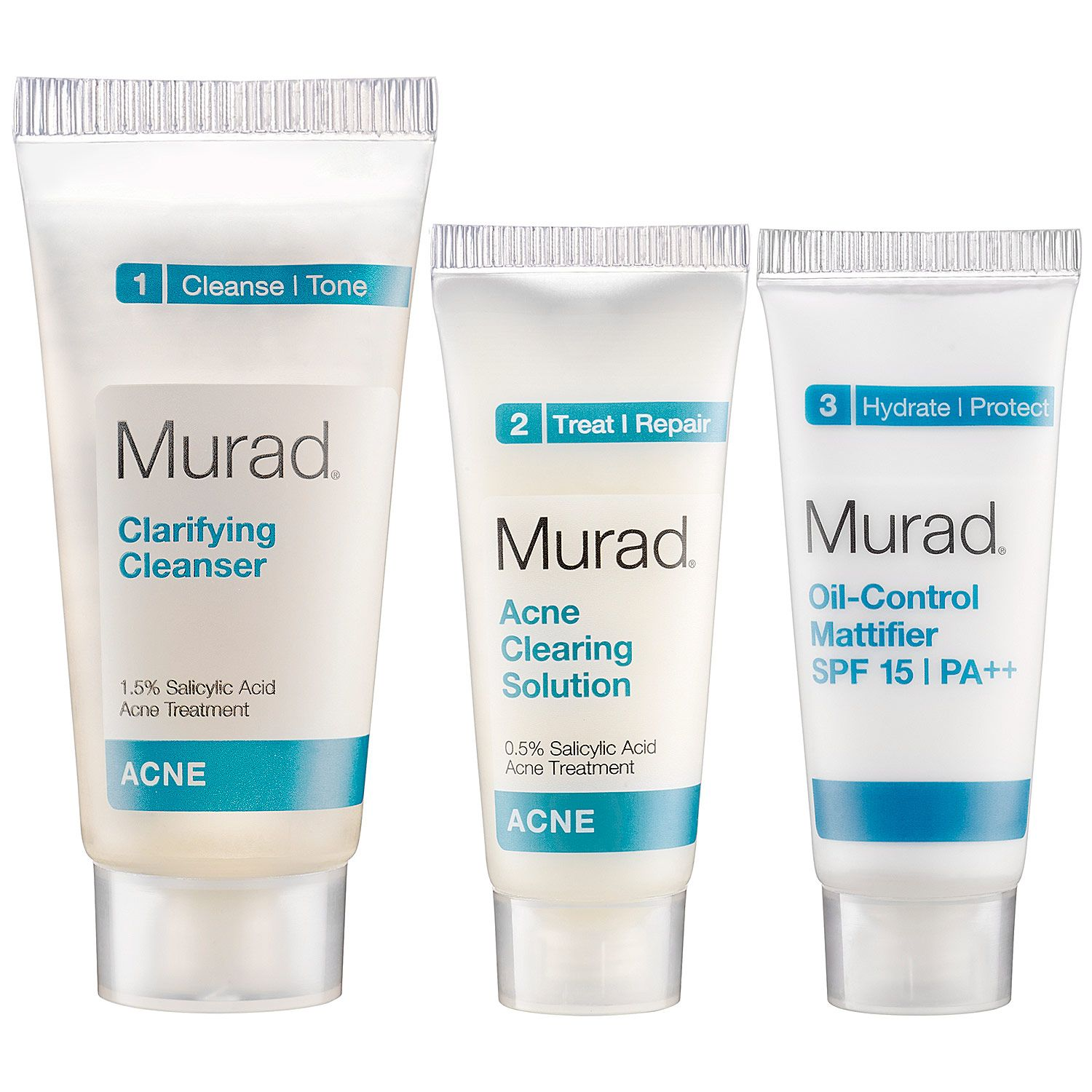 Acne Clearing Kit Murad Clear acne, Oil control