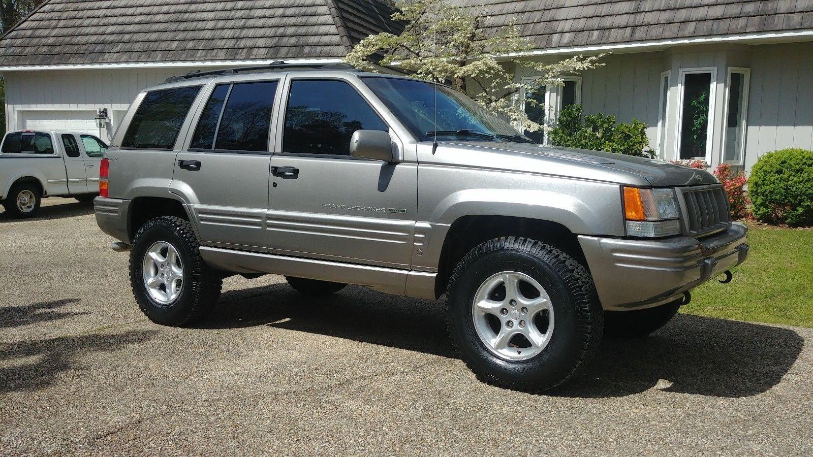 Ebay 1998 Jeep Grand Cherokee 5 9l Limited 1998 Jeep Grand