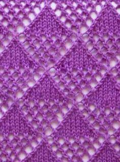 Photo of Knit ajour pattern