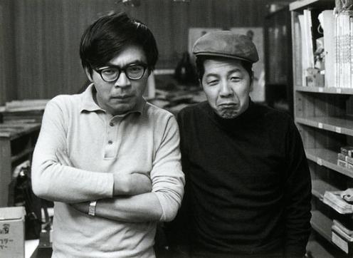 ghibli-collector: Miyazaki Hayao and his mentor Otsuka Yasuo ...