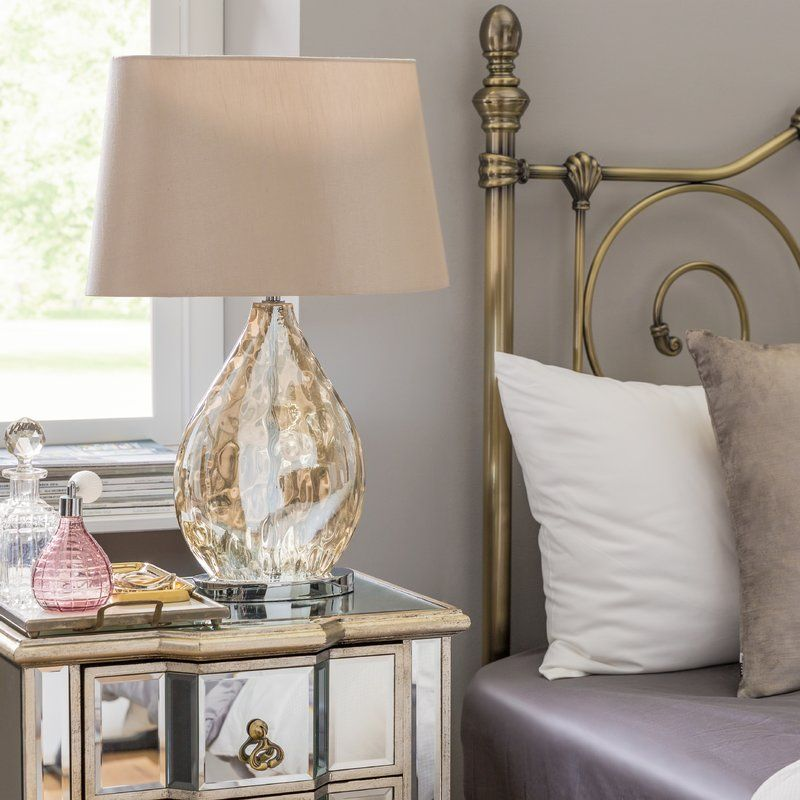 Electroplated 58 5cm Bedside Table Lamp Bedside Table Lamps
