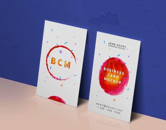 Vertical business card mockup mockup pinterest vertical vertical business card mockup reheart Images