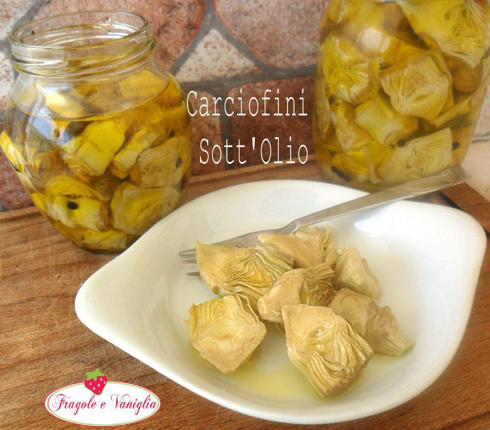 4aaced8a25175fb0c8e49f891e6f7180 - Carciofini Sott Olio Ricette
