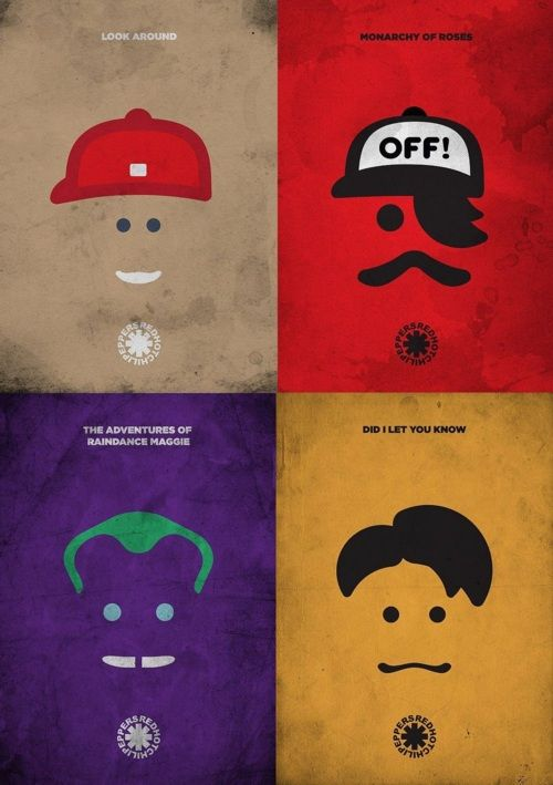 Red Hot Chili Peppers...I want this!! Someone find it for me please