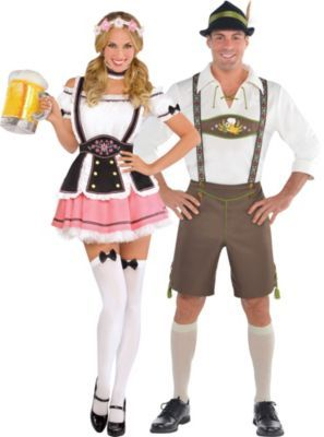 febc66e83a3b1d Bavarian Couples Costumes | Randomness in 2019 | Octoberfest costume ...