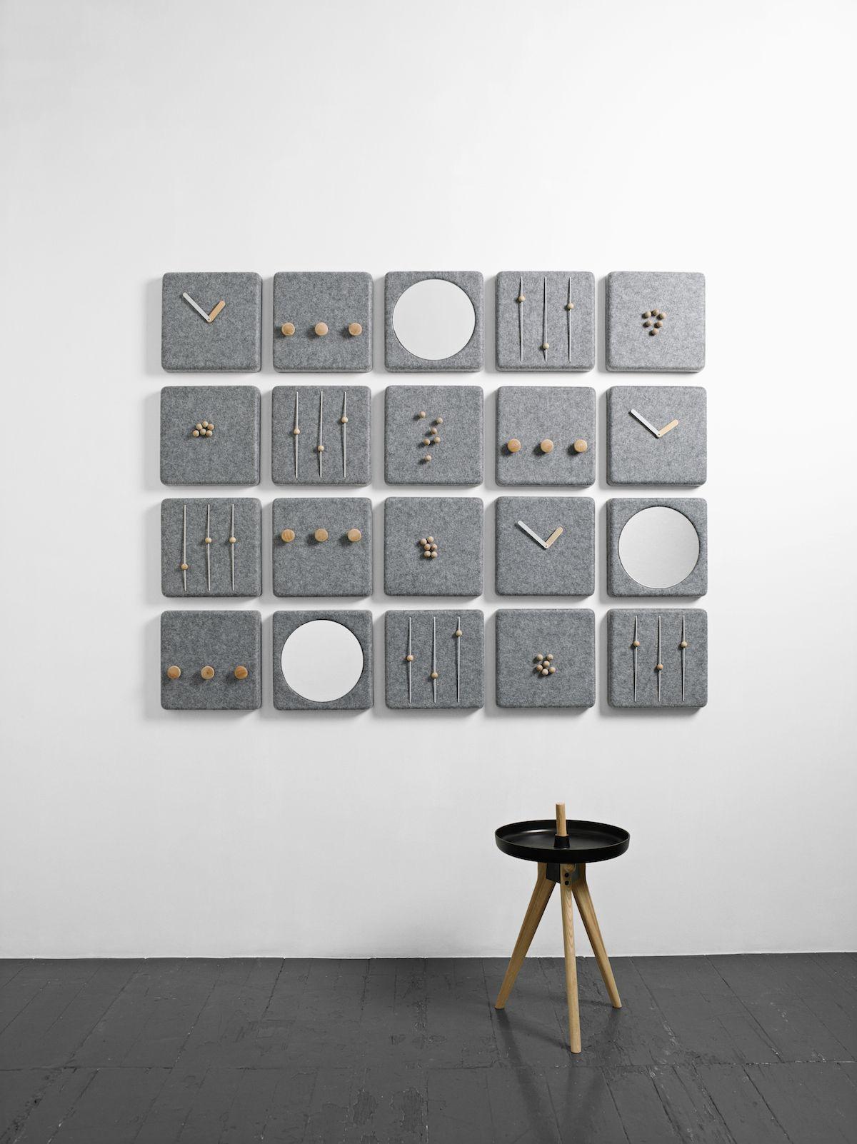 MenuFeltPanel Decor, Danish design, Soft minimalism