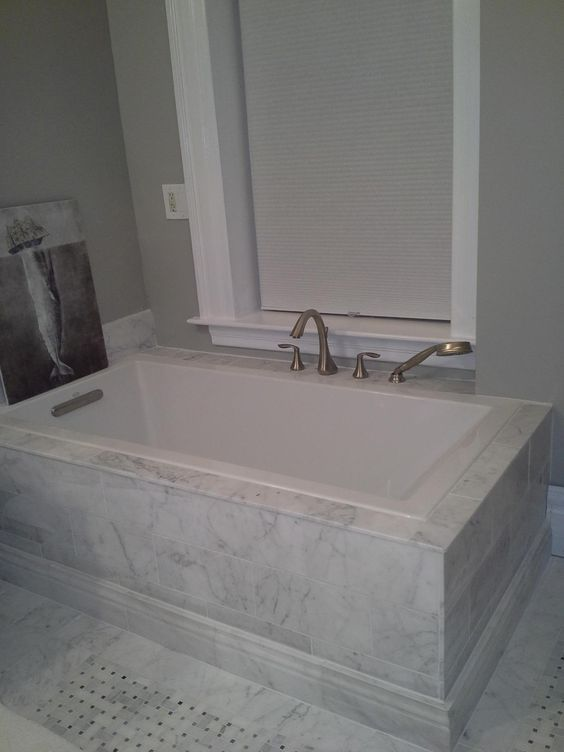 Kohler K-1121-0 Underscore Drop-In Undermount Bathtub, White ...