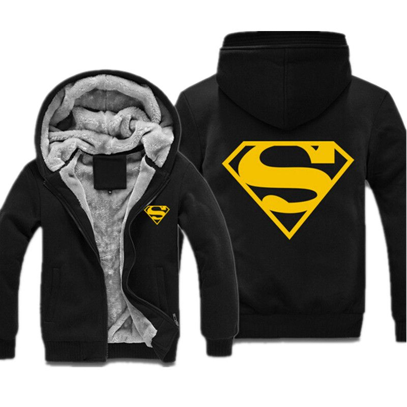 Superman Logo Zipped Hoodie 46.95 ONLY! Get yours here