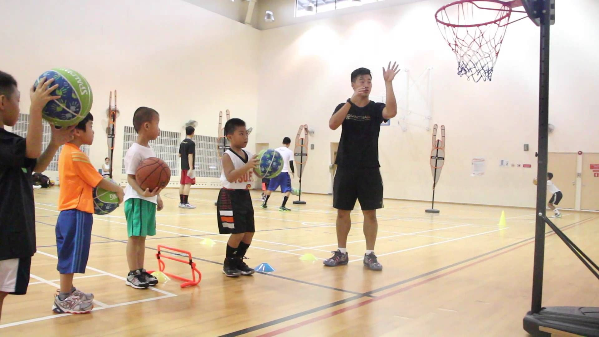 Basketball Training Lesson Singapore Basketball #startyoung