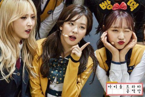 170517 Idol Drama Operation Team Tumblr Kpop Girls Red Velvet Seulgi Red Velvet