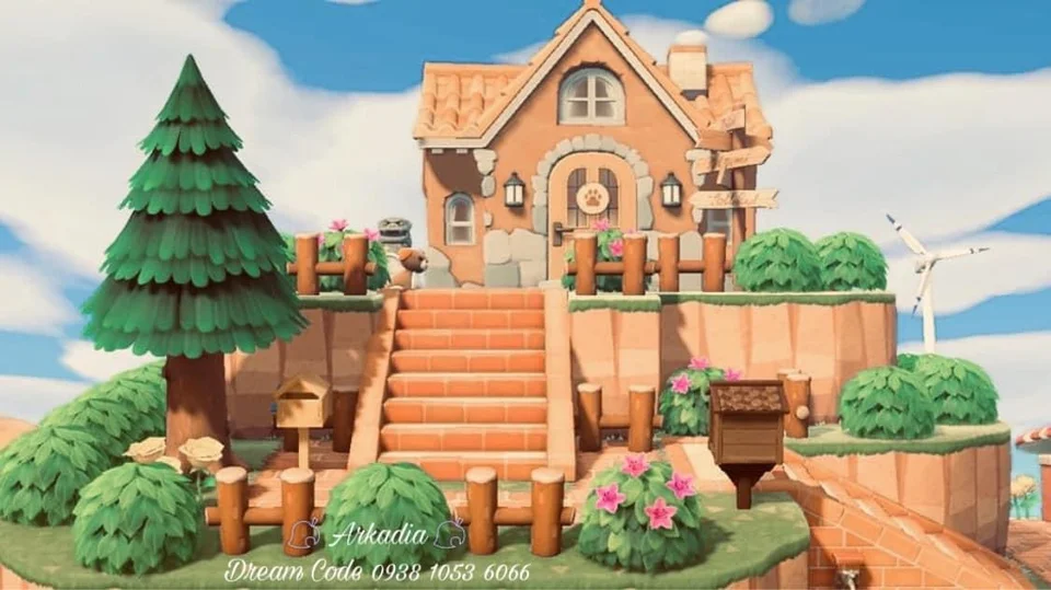 My house in Arkadia, animal crossing