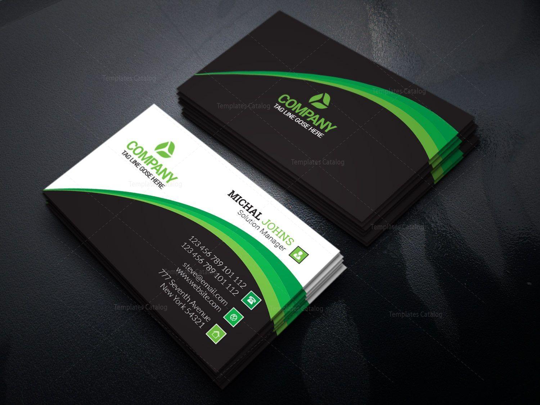 Company Print Business Cards 002519 Template Catalog Printing Business Cards Company Business Cards Business Cards Creative