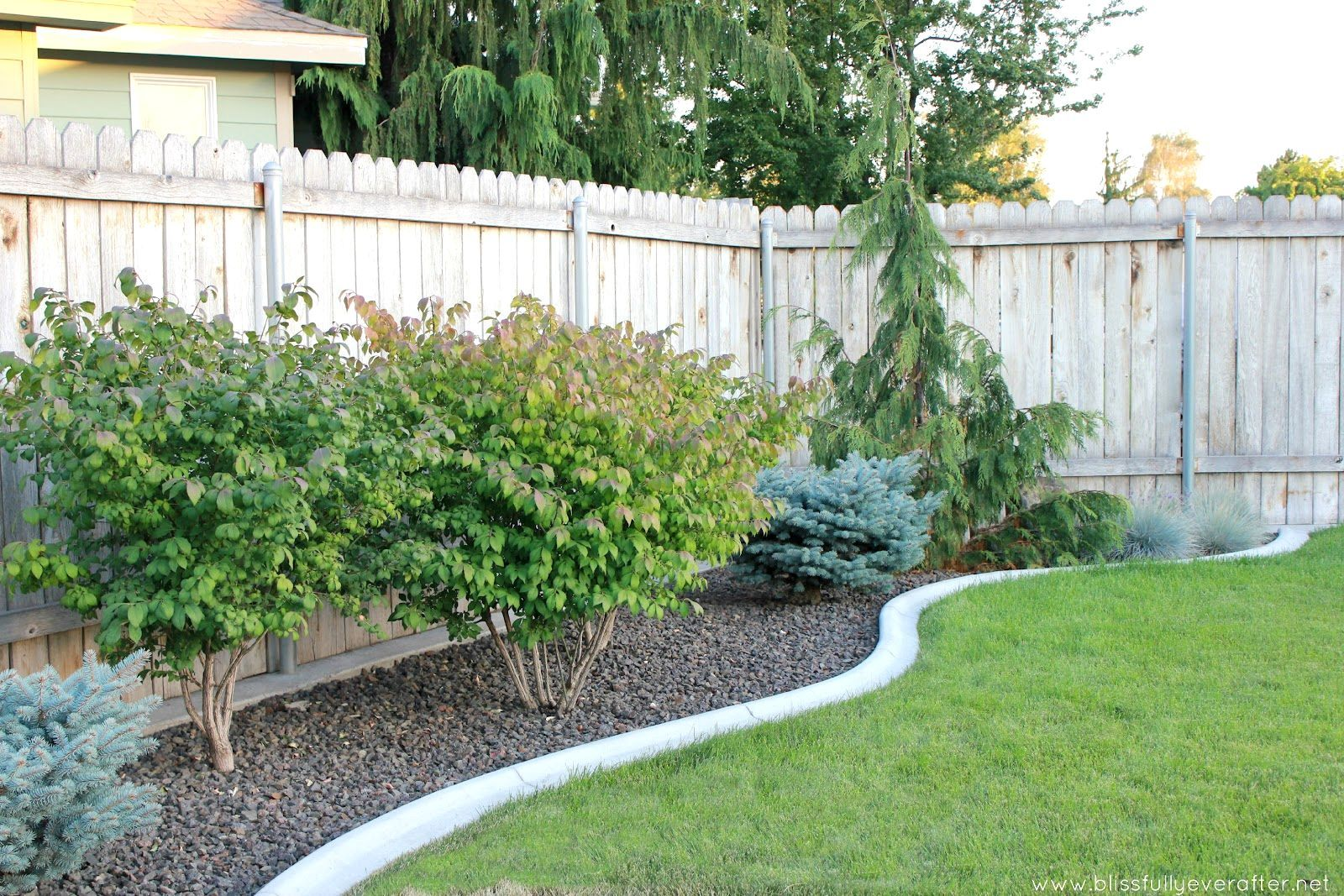 Landscape ideas for small backyards before and after small for Inexpensive landscaping ideas for small yards