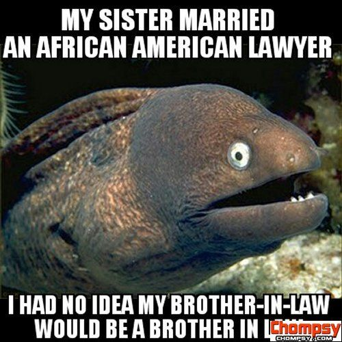 eel pun brother in law