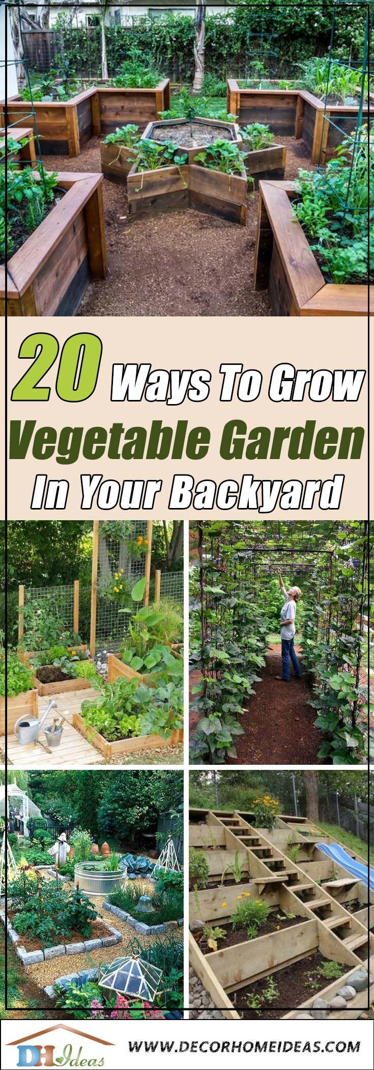 20 Ways To Grow Your Perfect Vegetable Garden Vertical