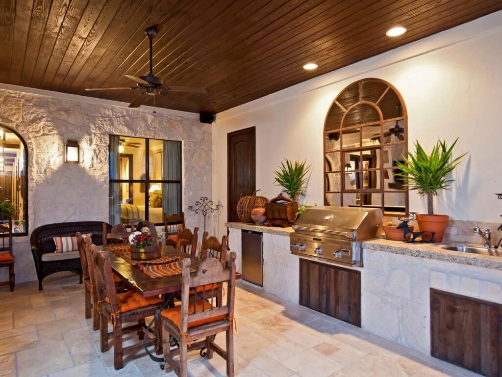31 Modern And Traditional Spanish Style Kitchen Designs Hacienda Style Kitchen Spanish Style Kitchen Spanish Style Homes