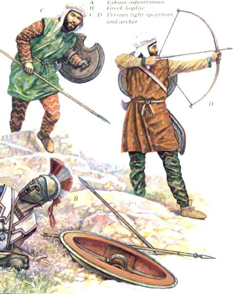 Crónicas de Batallas: Imagenes del Ejercito persa
