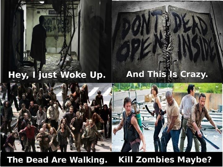 Kill zombies maybe zombie the walking dead movie posters