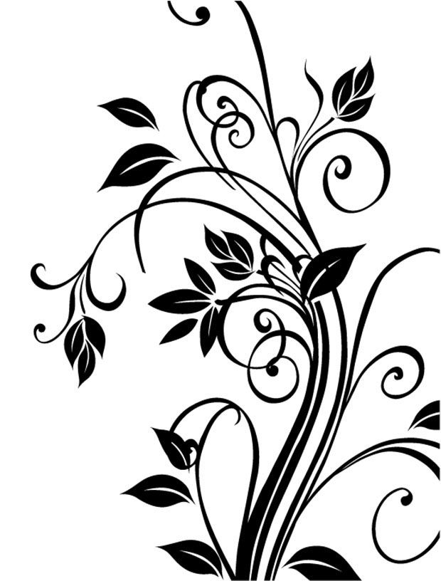 Vector Cdr Floral Free Vector Http Freevectorsite Com Vector Cdr Floral Free Vector Free Vector Art Vector Flowers Graphic Design Art