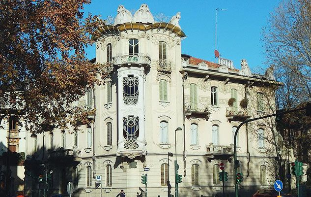 Casa Fenoglio – La Fleur, scrigno liberty nel centro di Torino