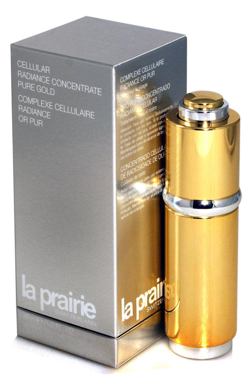 La Prairie Cellular Radiance Concentrate Pure Gold Pure Products Luxury Beauty Packaging Pure Gold