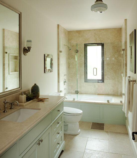 I Like The Color Combination Tub Shower Combo Design