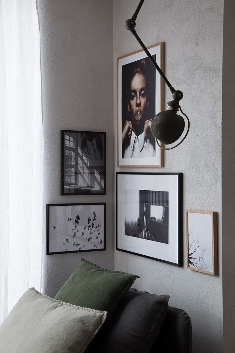 Wall Decor Inspiration By Genevieve Jorn X Niki Brantmark Home Decor Design Visual Gallery Wall Living Room Corner Wall Decor Corner Gallery Wall