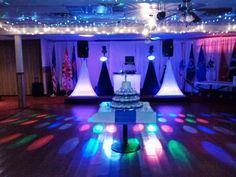 Wedding DJ Light Set Up DTEDJSCOM