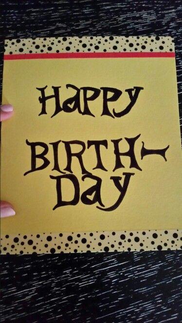 happy birthday alice    karten