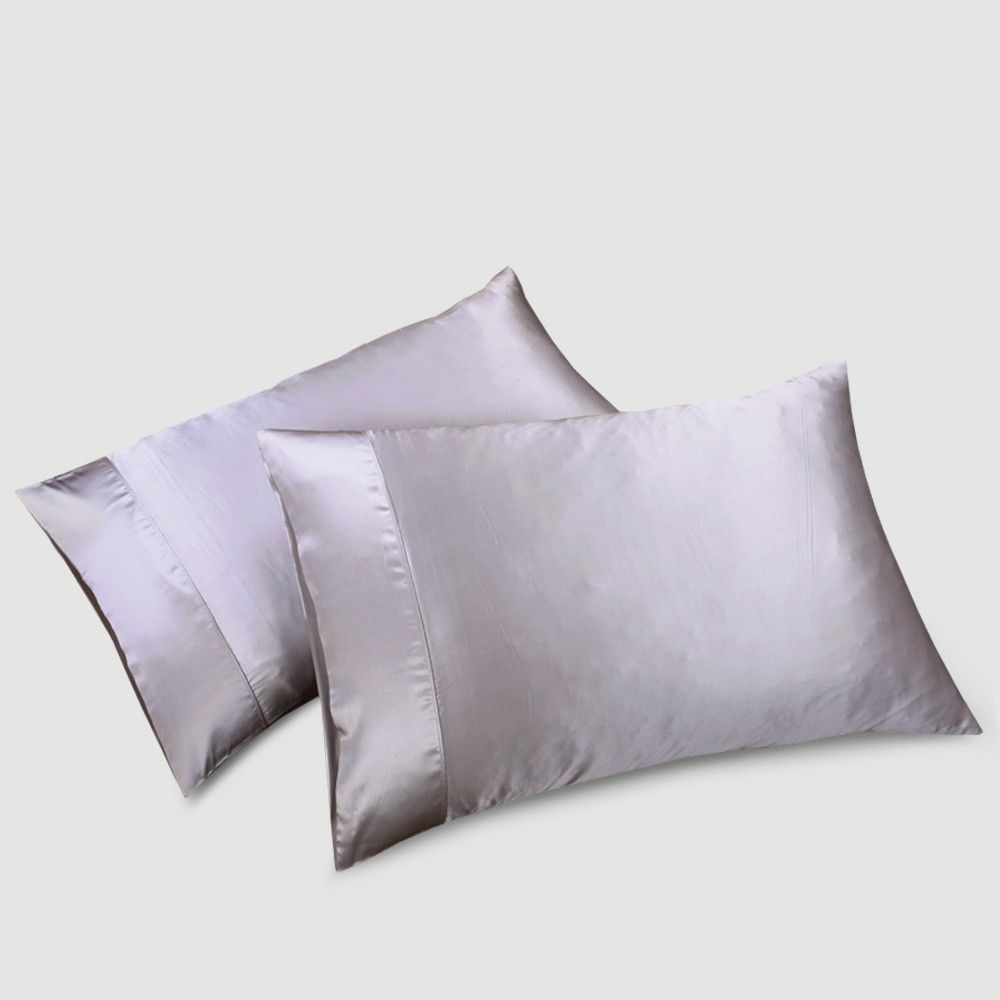 Best Silk Pillowcase For Skin Mesmerizing Silver Housewife Silk Pillowcase  Them Allergies And The O'jays Decorating Design