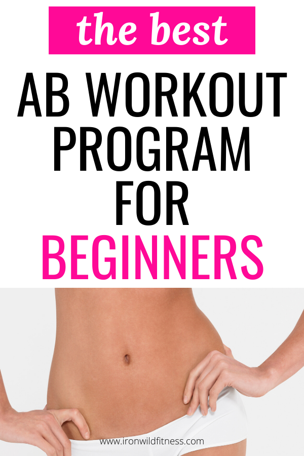 Best Ab Workout For Beginners - 30 Day Core Workout Challenge -   19 fitness Training abs ideas