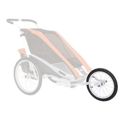 Thule Jogging Conversion Kit For Double Carriers Silver Jogging Stroller Baby Jogger Baby Jogger Stroller